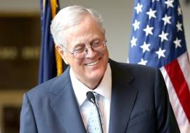 7. David Koch
